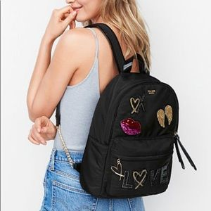 VS Runway Patch Glam City Backpack